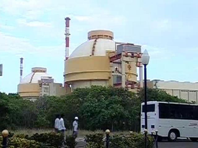 Video : Power from Kudankulam nuclear plant reaches southern grid