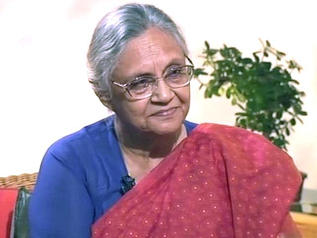 Video : Arvind Kejriwal has caught the people's imagination: Sheila Dikshit to NDTV