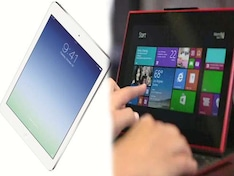 iPad Air vs Lumia 2520