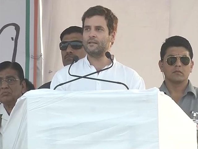 Video : Don't care if I am killed too, Rahul Gandhi in Rajasthan