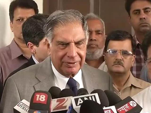 Video : 'Would be very happy to look at Air India privatisation': RatanTata