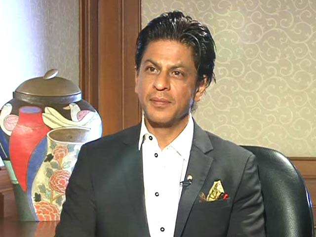 Video : With SRK on the <i>Chennai Express</i>