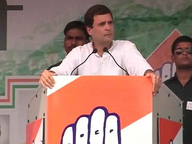 Video : At Delhi rally, Rahul Gandhi doesn't clarify his ISI remark