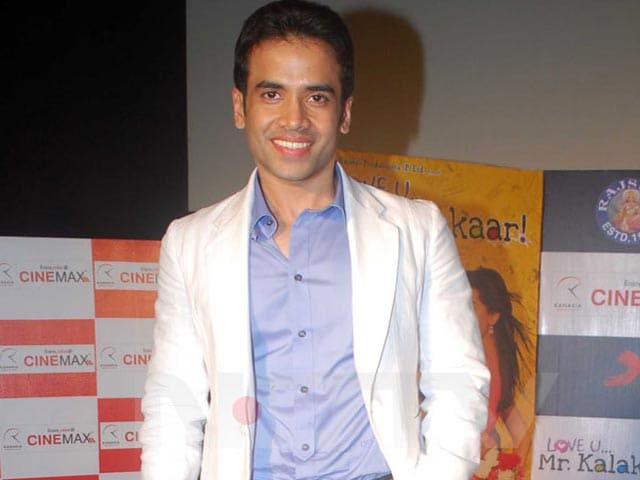 Video : Tusshar Kapoor to produce a film?