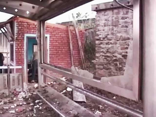 Video : Two killed in bomb blast near bus stand in Imphal