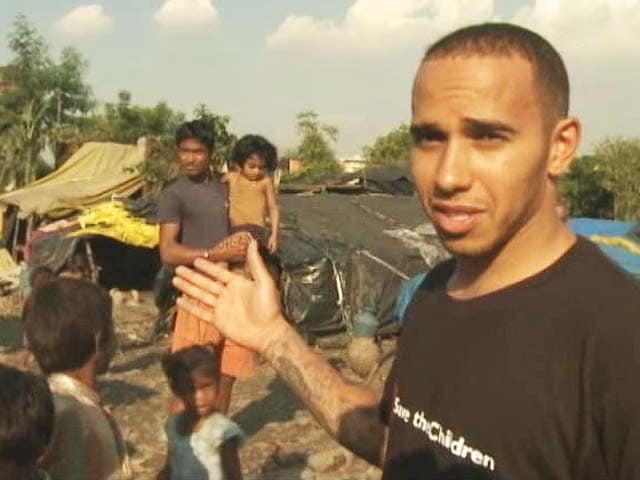 Video : The other side of Lewis Hamilton – from the paddock to the slums