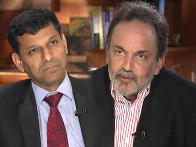 Video : Inflation target 5%, don't want rupee back at 45 level: RBI Governor to NDTV