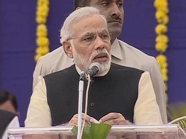 Video : We need Sardar Patel's secularism, not votebank secularism: Modi