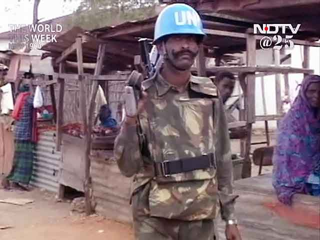 Video : The World This Week: India sends its troops to Somalia (Aired: November 1993)