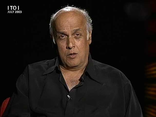 Video : I to I with Mahesh Bhatt (Aired: July 2003)