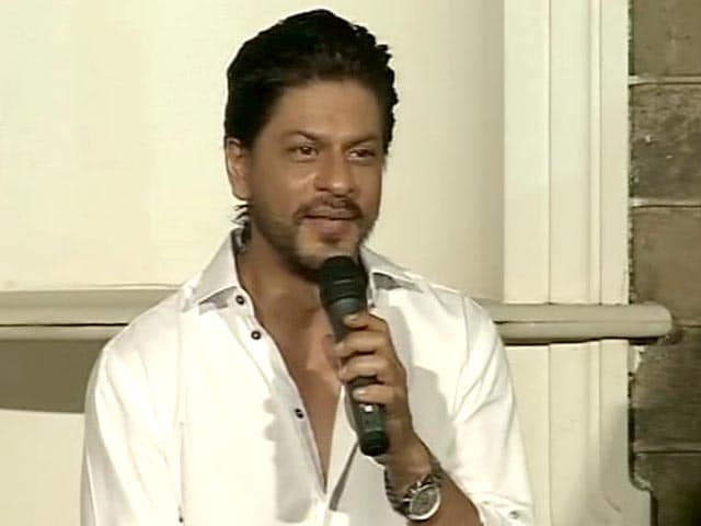 Video : Shah Rukh Khan: I respect Salman Khan's family, work
