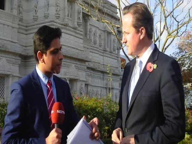 Video : Visa bond scheme was never targeted at India: British PM David Cameron tells NDTV