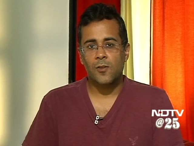 Video : NDTV is generic to news: Chetan Bhagat