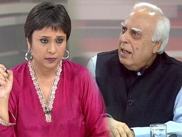 Video : Why is Narendra Modi not ready to debate with me: Kapil Sibal to NDTV