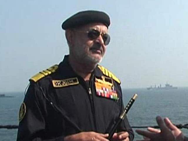 Video : Salvage contract for Submarine Sindhurakshak, which exploded and sank, to be finalised soon: Navy chief