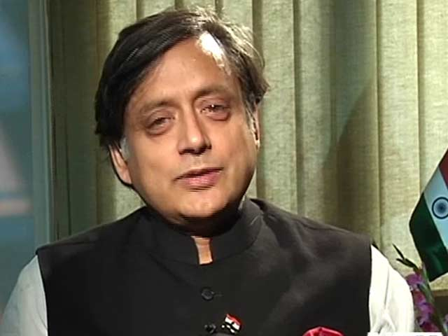 Video : NDTV a key voice at home and abroad: Shashi Tharoor