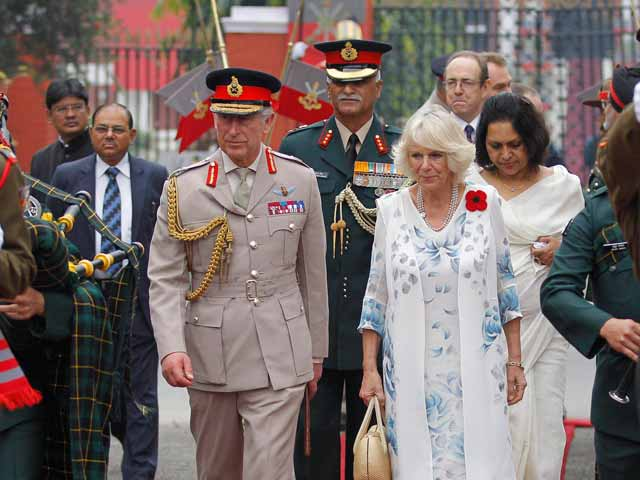 Video : Prince Charles, wife Camilla visit military academy in Dehradun