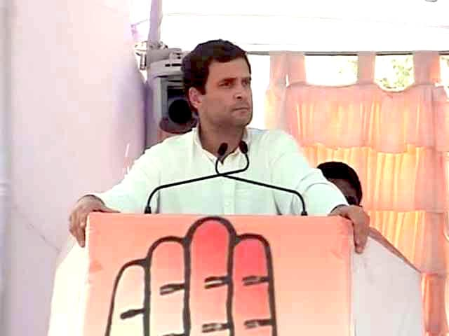 Video : Will give back what BJP took from you, says Rahul at Chhattisgarh rally