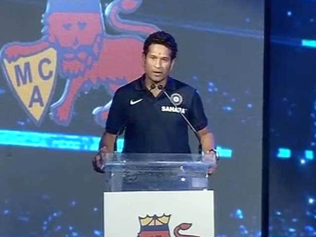 Video : Didn't expect to see my name on top of a club, it felt different: Sachin Tendulkar