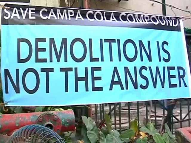 Video : Mumbai: Eviction notice given to Campa Cola society residents