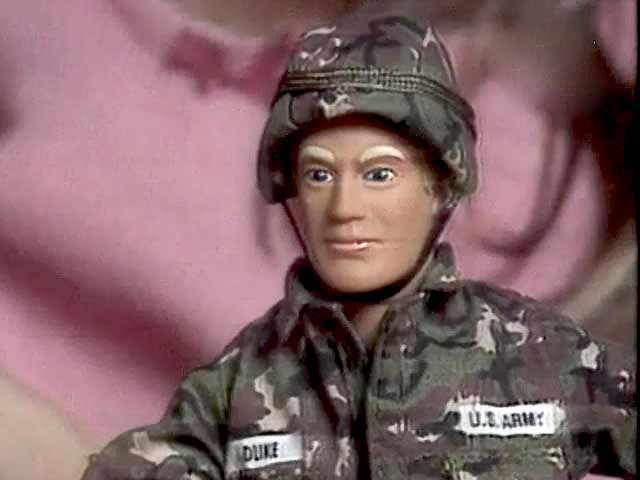 Video : The World This Week: Looks like G I Joe, talks like Barbie (Aired: January 1994)