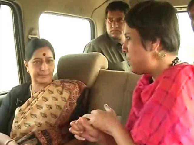 Video : My relationship with Sonia Gandhi is civil, but my position is unchanged: Sushma Swaraj to NDTV