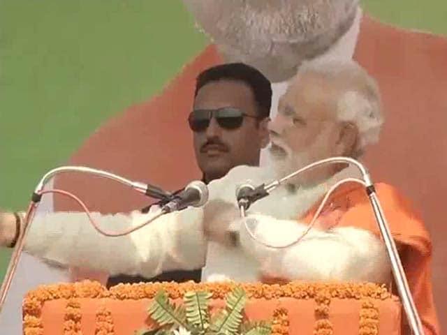 Video : Narendra Modi mimics 'Shehzada' Rahul Gandhi at Chhattisgarh rally