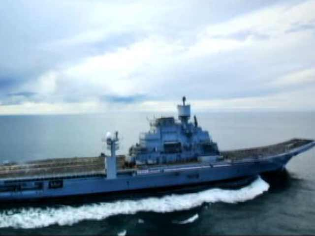 Video : Exclusive: on board the INS Vikramaditya