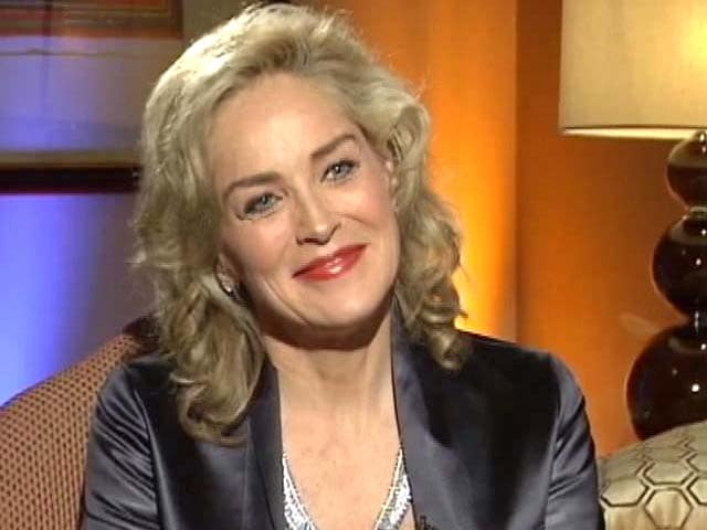 Video : Everything about India is exciting: Sharon Stone