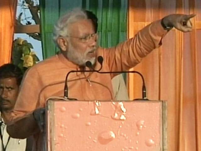 Video : Now, Modi calls Gandhi 'Mohanlal' instead of Mohandas