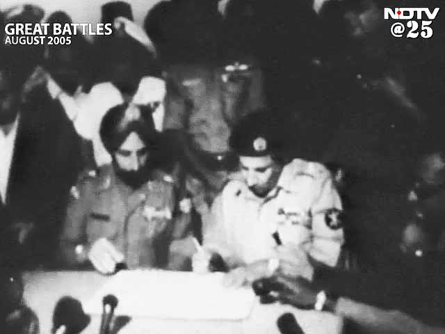 Video : Great Battles: 1971, India liberates East Pakistan (Aired: August 2005)