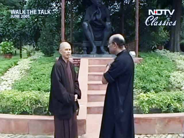 Video : Walk The Talk: Thich Nhat Hanh (Aired: June 2005)