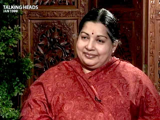 Video : Talking Heads with Jayalalithaa (Aired: January 1999)