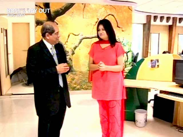 Video : Boss' Day Out: Mastek's Ashank Desai (Aired: August 2007)