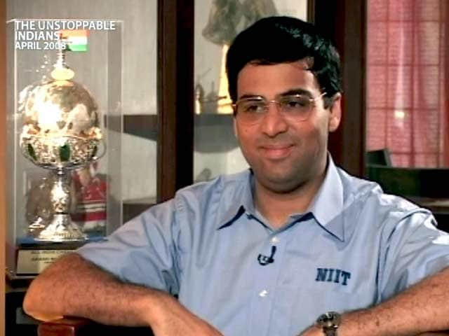 Video : The Unstoppable Indians: Viswanathan Anand (Aired: April 2008)