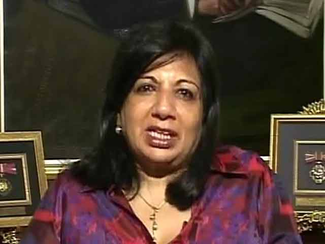 Video : My brother was given preference over me: Kiran Mazumdar Shaw