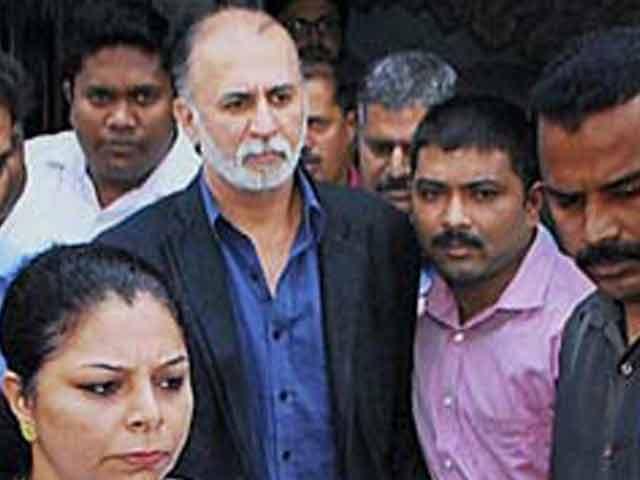 Video : Tarun Tejpal sent to six-day police custody by Goa court