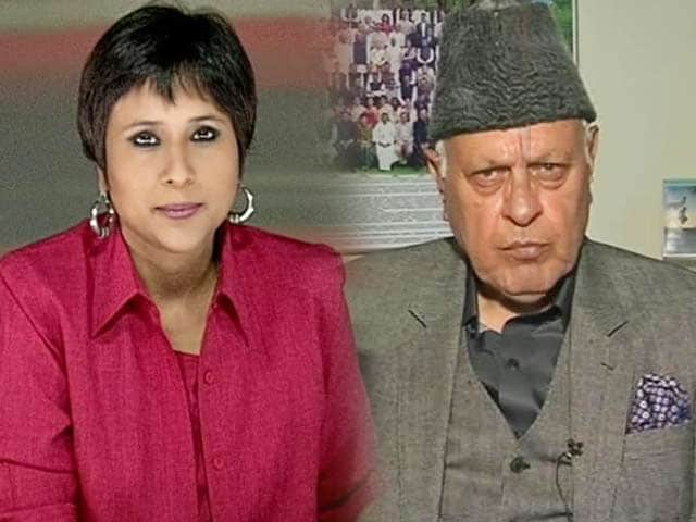 Video : Don't meddle with Article 370: Farooq Abdullah to Modi