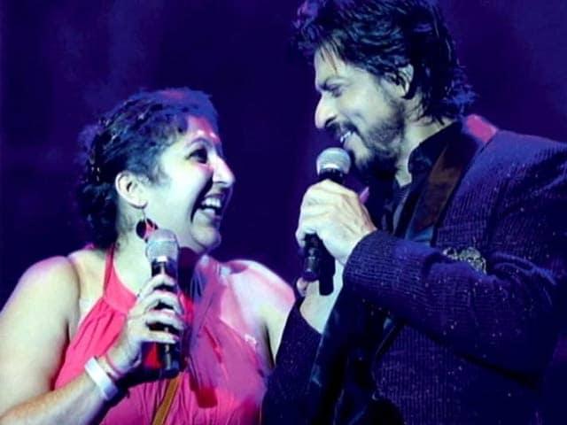 Video : Shah Rukh Khan enthralls Dubai