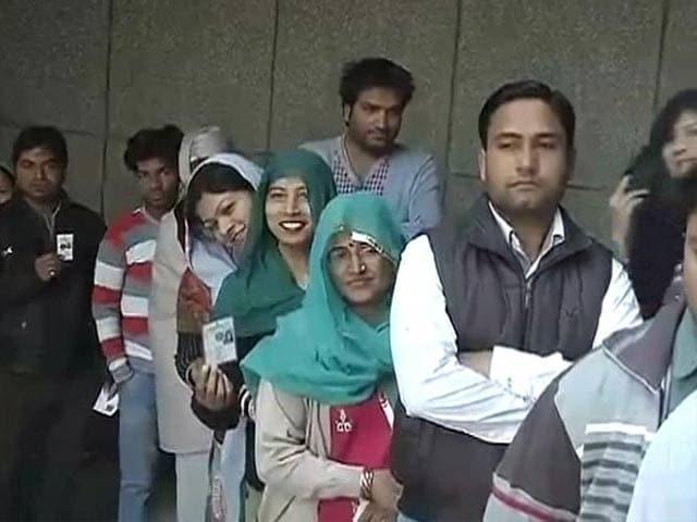 Video : Delhi sees record voter turnout, advantage BJP, say exit polls