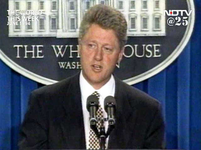 Video : The World This Week: Clinton's 'market before morals' approach stuns world (Aired: June 1994)