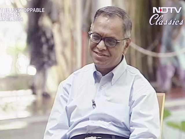 Video : The Unstoppable Indians: N R Narayanamurthy (Aired: April 2008)