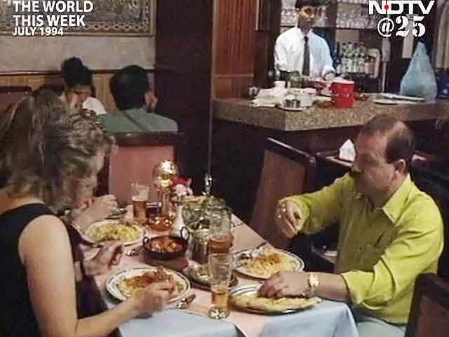 Video : The World This Week: Chicken tikka raj in Britain (Aired: July 1994)