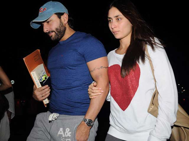 Video : Kareena, Saif all set to fly to Switzerland for winter break