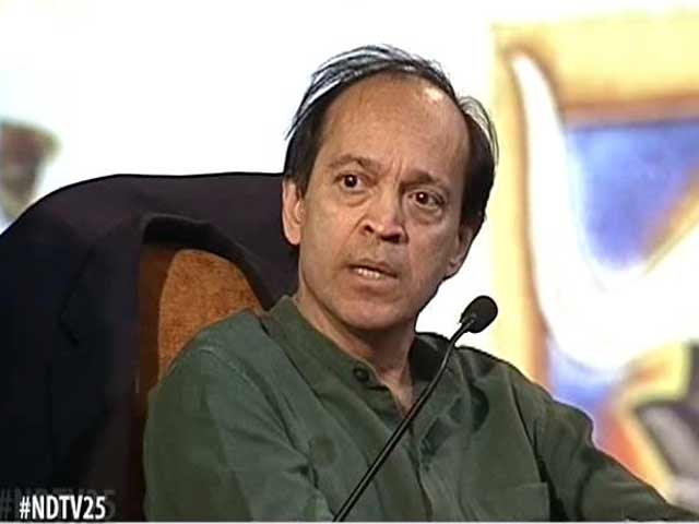 Video : We are happy to be claimed but not disclaimed the way M F Husain was: Vikram Seth