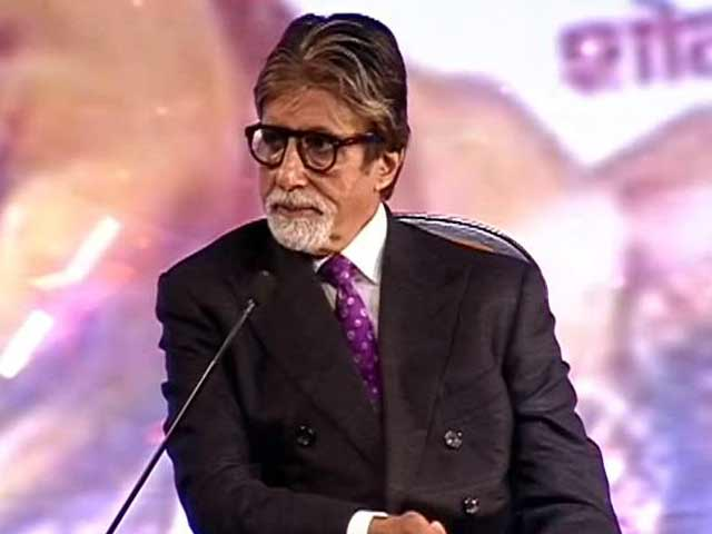 Video : We don't always degrade women in our films: Amitabh Bachchan