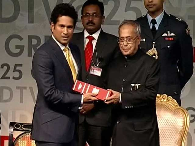 Video : When you are defeated, stand up to face another challenge: Sachin