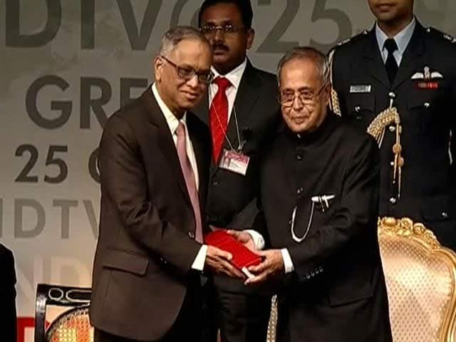 Video : Courage is the most important attribute of a leader: N R Narayana Murthy