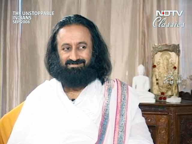 Video : Sri Sri Ravishankar: Teaching India and the world the Art of Living (Aired: September 2008)