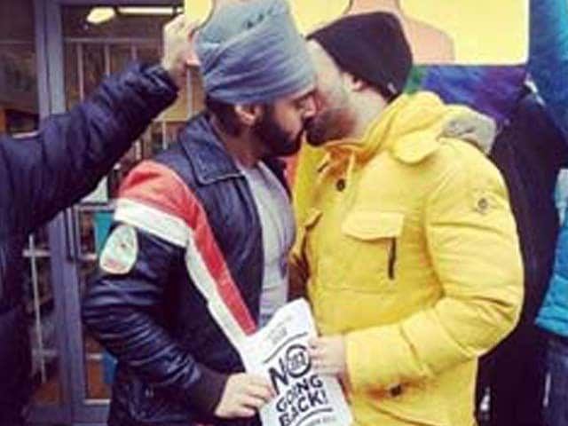 Video : Facebook deletes photo of gay Sikh kissing a man, sparks debate